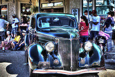 Photograph - Vintage Cruise Cars 2 by SC Heffner