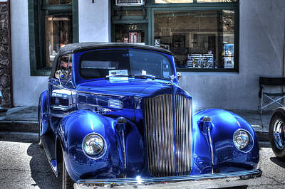 Photograph - Vintage Cruise Cars 3 by SC Heffner