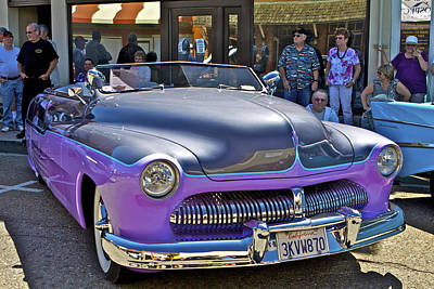Photograph - Vintage Cruise Cars 4 by SC Heffner