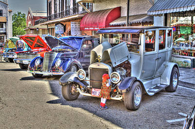 Photograph - Vintage Cruise Cars 5 by SC Heffner