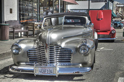 Photograph - Vintage Cruise Cars 6 by SC Heffner