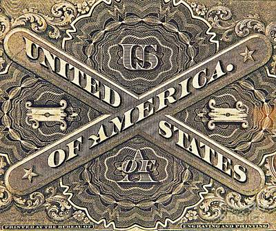 Vintage Currency  Art Print