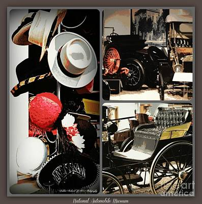 Photograph - Vintage Days Collage by Bobbee Rickard