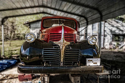 Photograph - Vintage Dodge - Harold And Grady by Barbara Youngleson