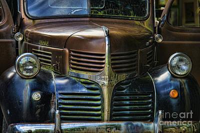 Vintage Dodge Art Print by Mark Newman