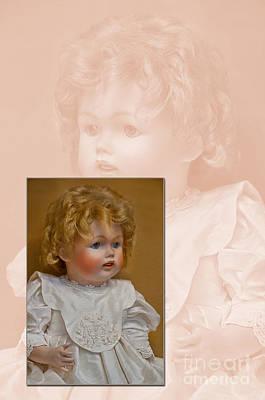 Vintage Doll Beauty Art Prints Art Print by Valerie Garner