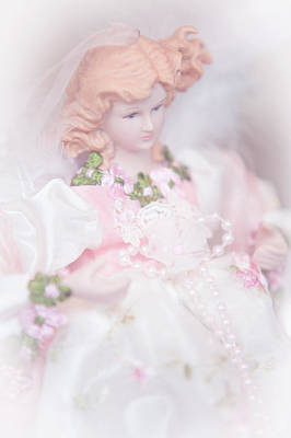Photograph - Vintage Doll For Xmas Time 1 by Jenny Rainbow