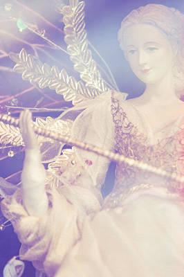 Vinatge Photograph - Vintage Doll. Merry Christmas by Jenny Rainbow