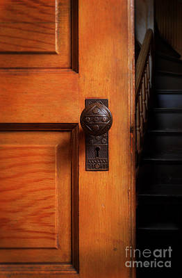 Photograph - Vintage Door And Stairs by Jill Battaglia