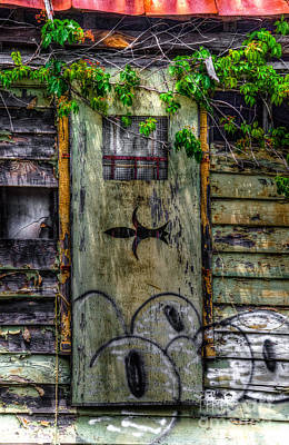 Photograph - Vintage Door by Dale Powell