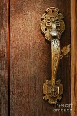 Vintage Door Handle Art Print
