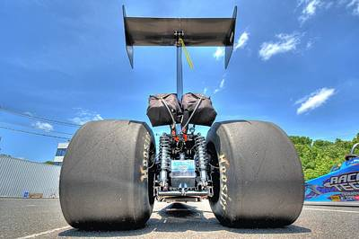 Old Hotrod Photograph - Vintage Drag Racer by Gianfranco Weiss