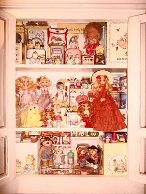 Candy Candy Doll Photograph - Vintage Dream by Donatella Muggianu