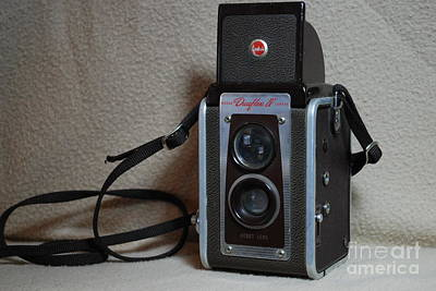 Photograph - Vintage Duaflex Iv Camera by Mark McReynolds