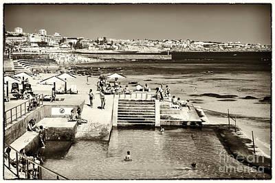 Photograph - Vintage Estoril Coast by John Rizzuto