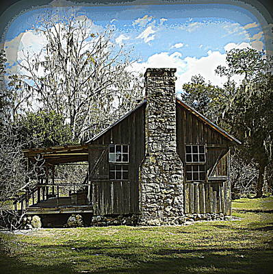 Photograph - Vintage Farm Cook House 1 by Sheri McLeroy