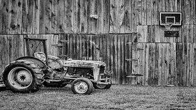 Vintage Photograph - Vintage Farm by Heather Applegate