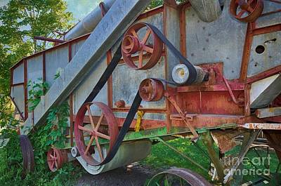 Photograph - Vintage Farm Machinery by Liane Wright