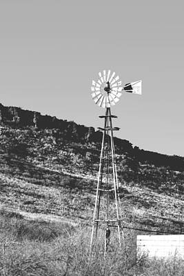 Photograph - Vintage Farm Windmill by Christine Till