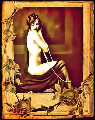 Photograph - Vintage Femme II by Mary Morawska