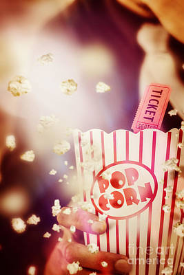 Pop Corn Photograph - Vintage Film And Cinema by Jorgo Photography - Wall Art Gallery