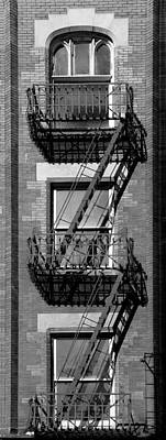 Photograph - Vintage Fire Escape 2 by Andrew Fare