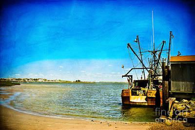 Photograph - Vintage Fishing Boat by Colleen Kammerer