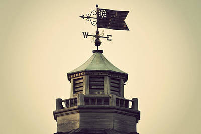 Kim Fearheiley Photography - Vintage Flag Weathervane by Terry DeLuco