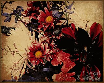 Photograph - Vintage Floral Beauty  by Bobbee Rickard