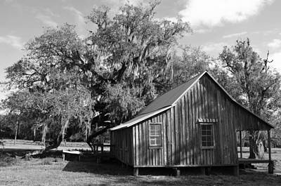 Photograph - Vintage Florida House by Ronald T Williams