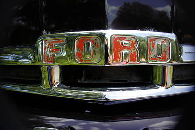 Photograph - Vintage Ford by Laurie Perry