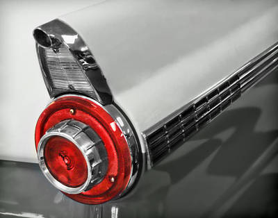Photograph - Vintage Ford Tail Light by David and Carol Kelly