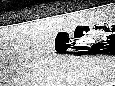 Photograph - Vintage Formula 1 Racer by George Pedro