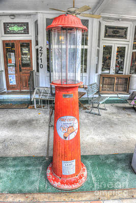 Photograph - Vintage Gas Pump by Dale Powell