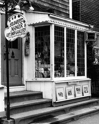 Store Fronts Photograph - Vintage Gift Shop Fine Art Print by Retro Images Archive