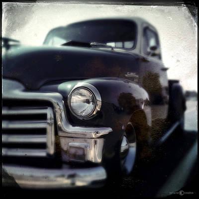 Photograph - Vintage Gmc Pickup by Tim Nyberg