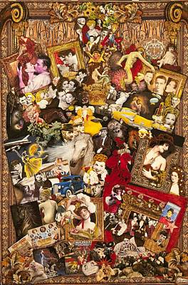 Memorabilia Mixed Media - Vintage Hollywood Collection by Jonell Restivo