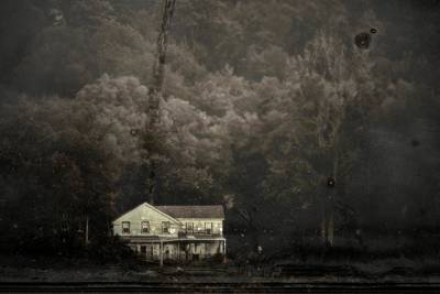 Photograph - The Old House by Marysue Ryan