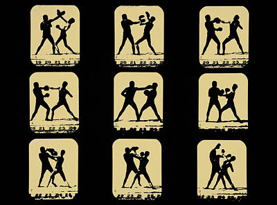 Boxing Digital Art - Vintage - How To Box by Bill Cannon
