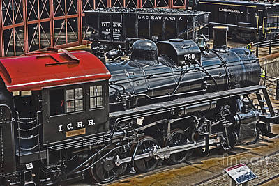 Vintage I C R R No. 790 Art Print by Gary Keesler