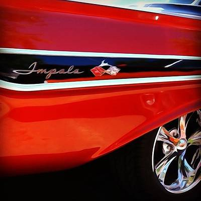 Classic Photograph - Vintage Impala by Heidi Hermes