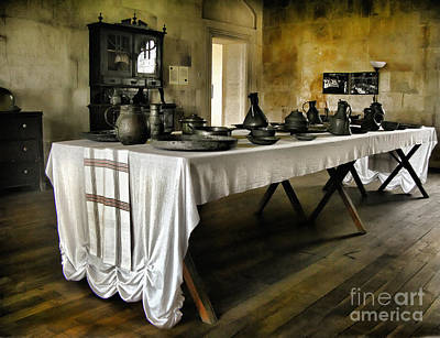Photograph - Vintage Interior Kitchen by Daliana Pacuraru