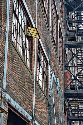 Photograph - Vintage Iron Mill by JAMART Photography