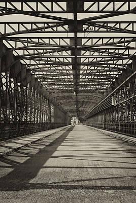 Grateful Dead - Vintage iron truss bridge by Jaroslav Frank