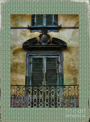 Photograph - Vintage Italian Shutters by Karen Lewis
