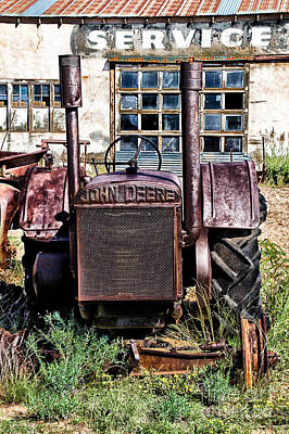 Photograph - Vintage John Deere by Jim McCain