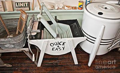 Photograph - Vintage Laundry Still Life by Valerie Garner