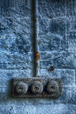 Vintage Light Switches Print by Russ Dixon