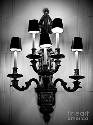 Photograph - Vintage Lighting by Colleen Kammerer