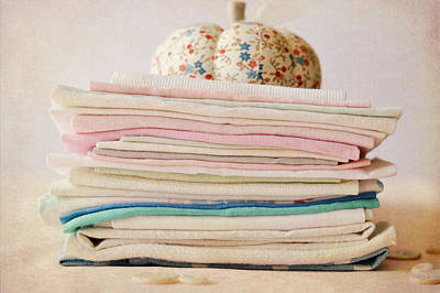 Photograph - Vintage Linens by Cathie Richardson